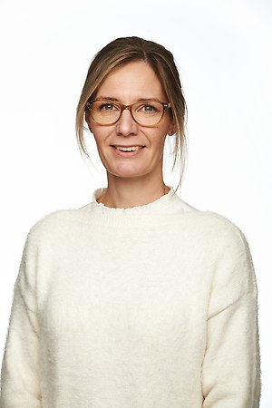Marie Stensson, chef Teknisk Service